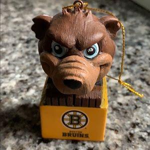 $5 w/any purchase NHL Boston Bruins Bear Ornament